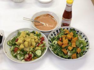 食物繊維サラダ